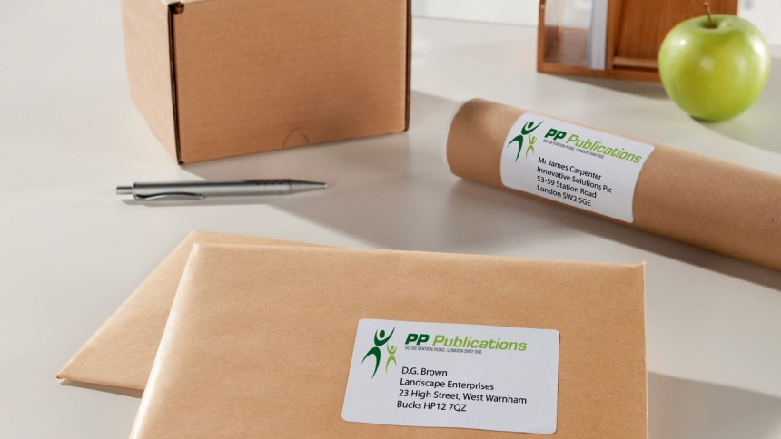 labels for parcels in all sizes avery