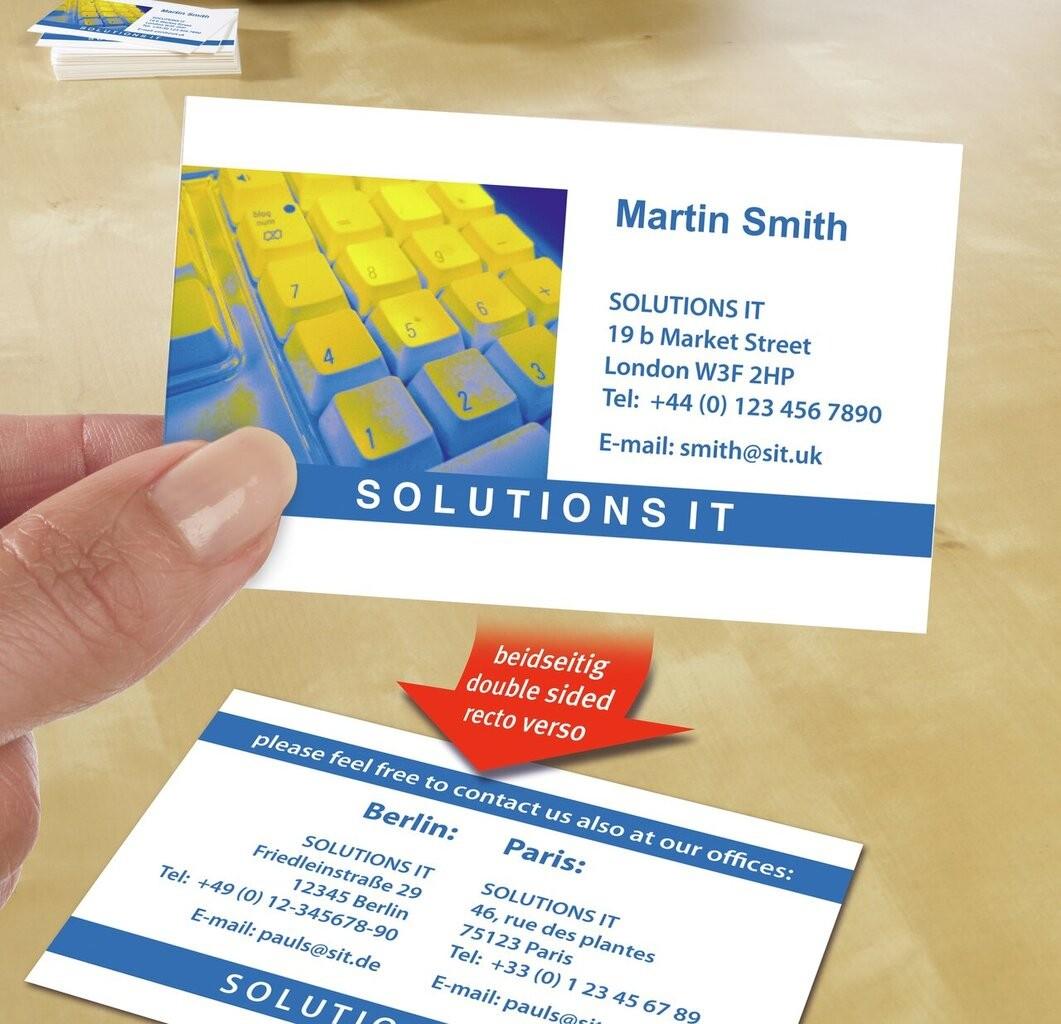 Premium Business Cards C32016 25 Avery
